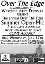 Westside july 2013 Open Mic